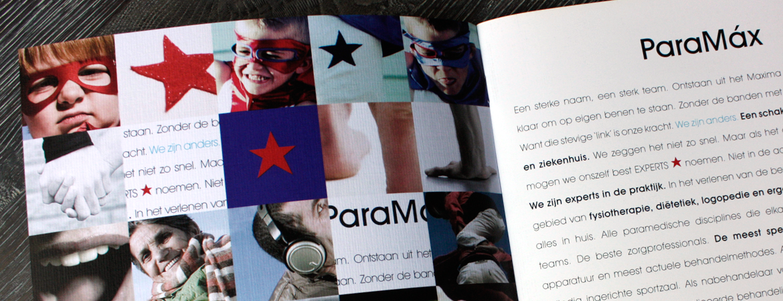 Ontwerp brandbook Paramax