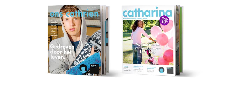 Ontwerp (personeels)magazine Catharina Ziekenhuis