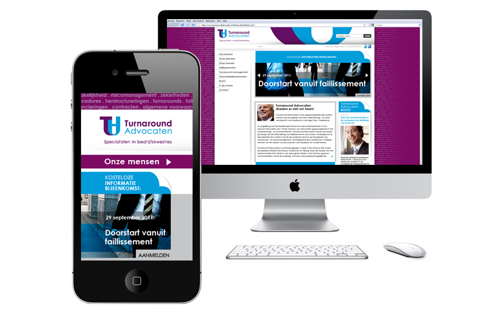 Turnaround Advocaten Website