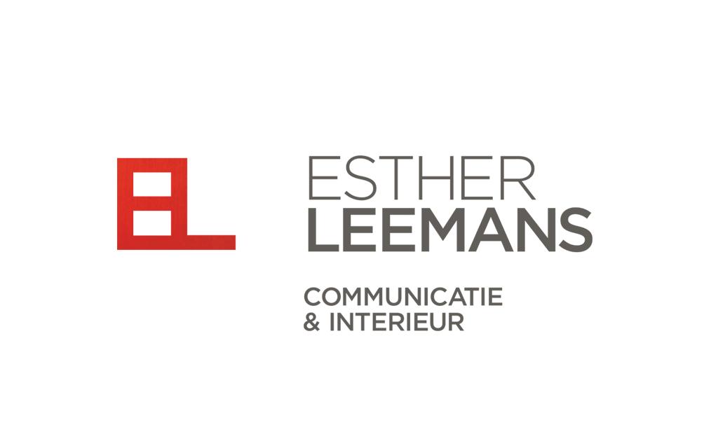 Ontwerp huisstijl Esther Leemans - logo