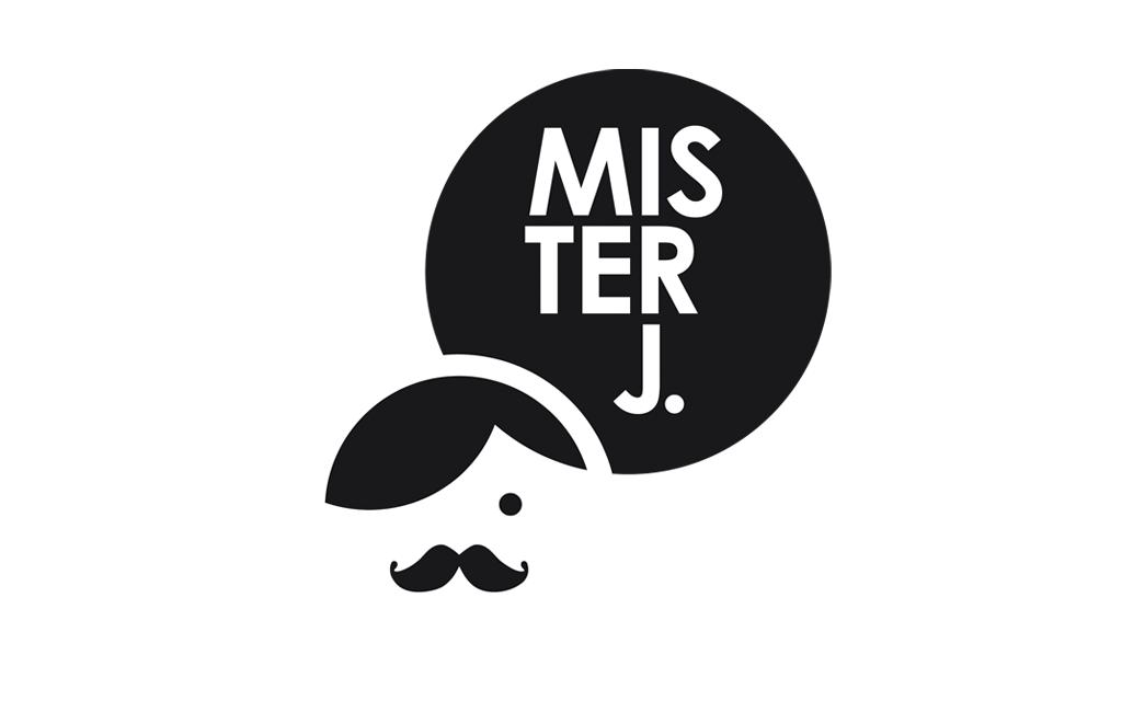 Ontwerp huisstijl Mister J - logo