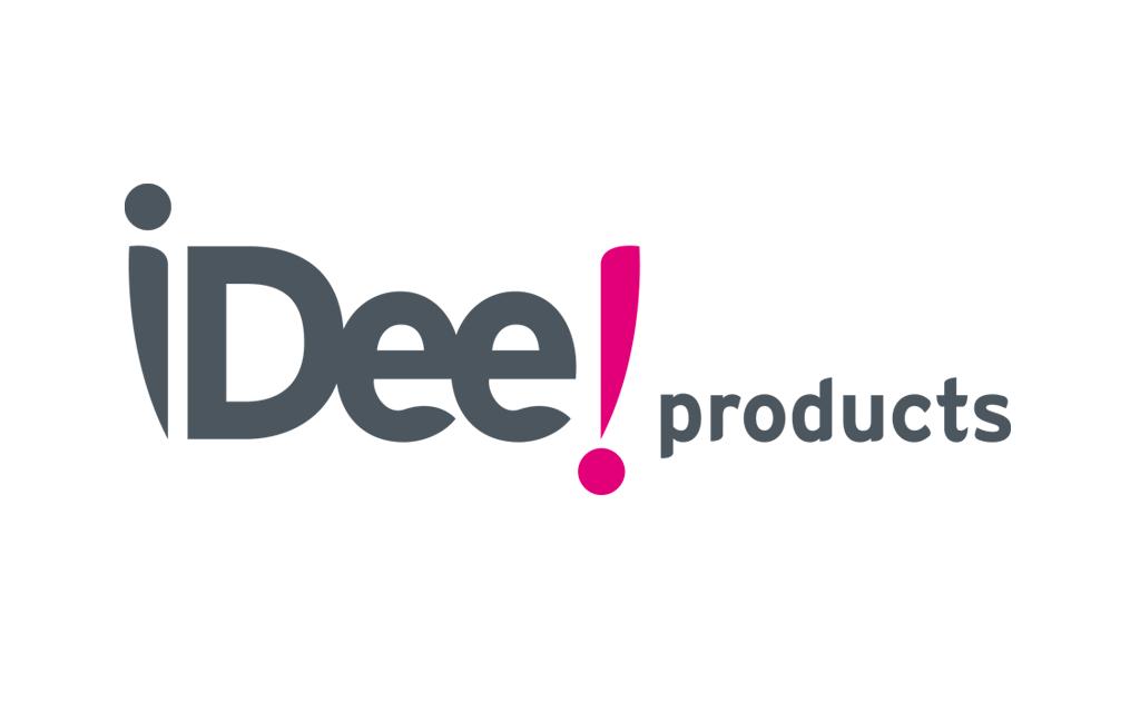 Ontwerp huisstijl Idee! products - logo