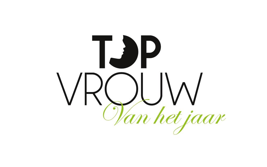 Ontwerp huisstijl Topvrouw van het jaar - logo
