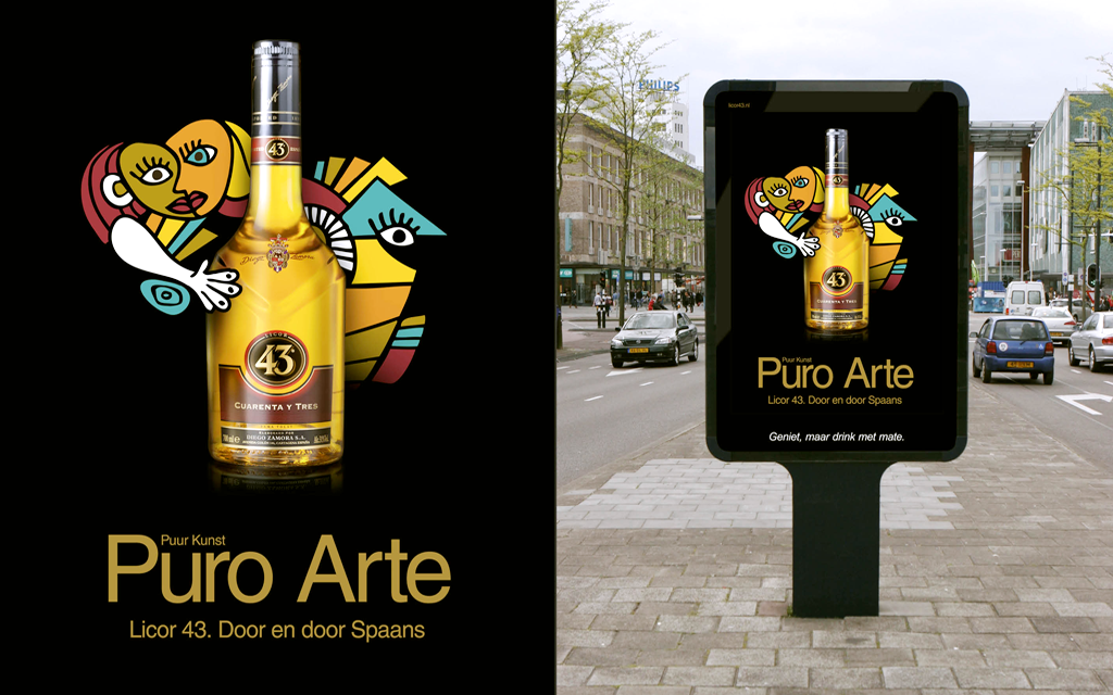 Licor 43 Puro Arte outdoor