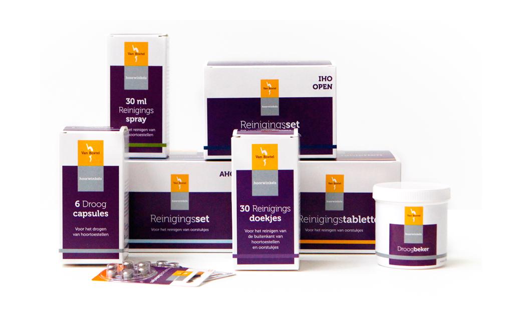 Verpakkingen Van Boxtel Hoorwinkels