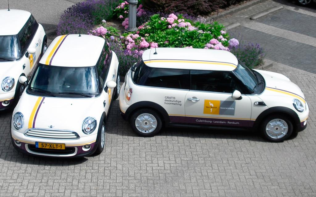 Autobelettering Van Boxtel Hoorwinkels