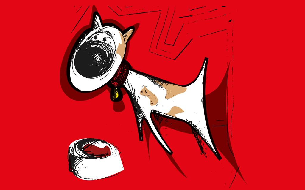 illustratie hond
