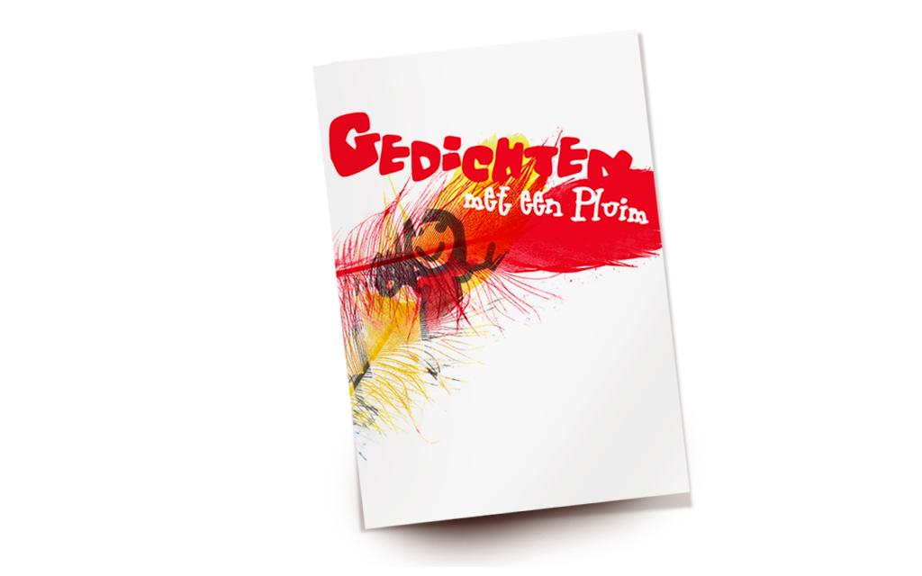 Cover boekje met gedichten Basisschool de Rietpluim