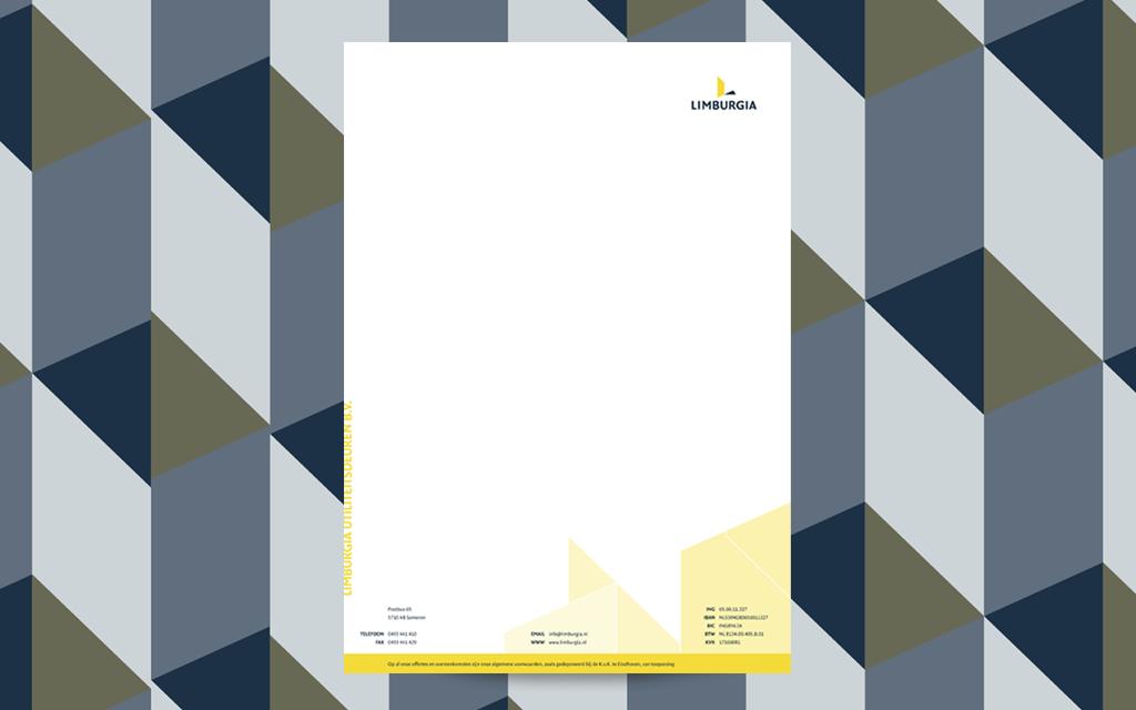 Huisstijl briefpapier Limburgia