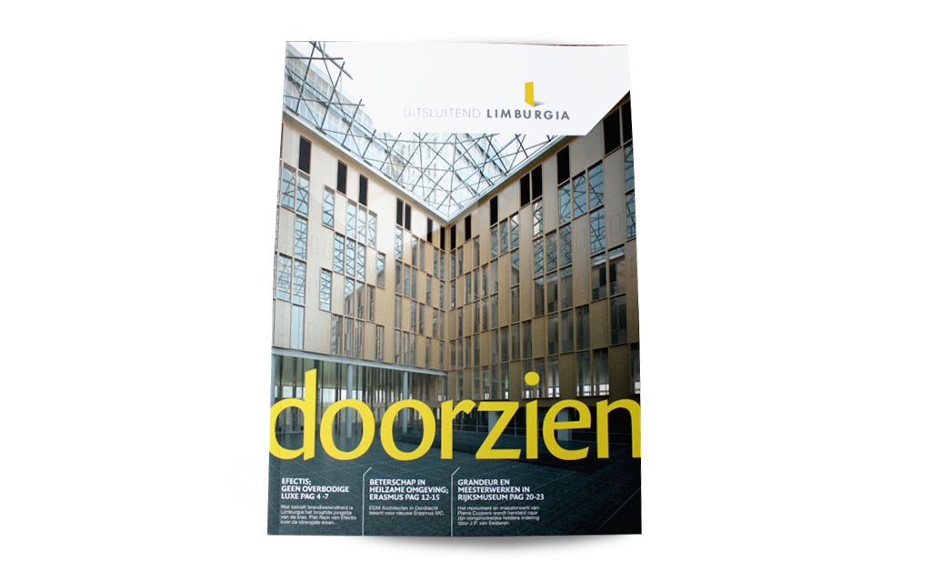 Cover magazine Limburgia