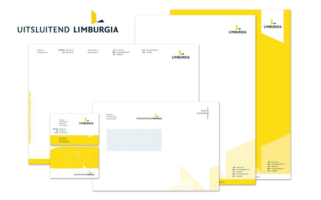 Huisstijl stationery Limburgia