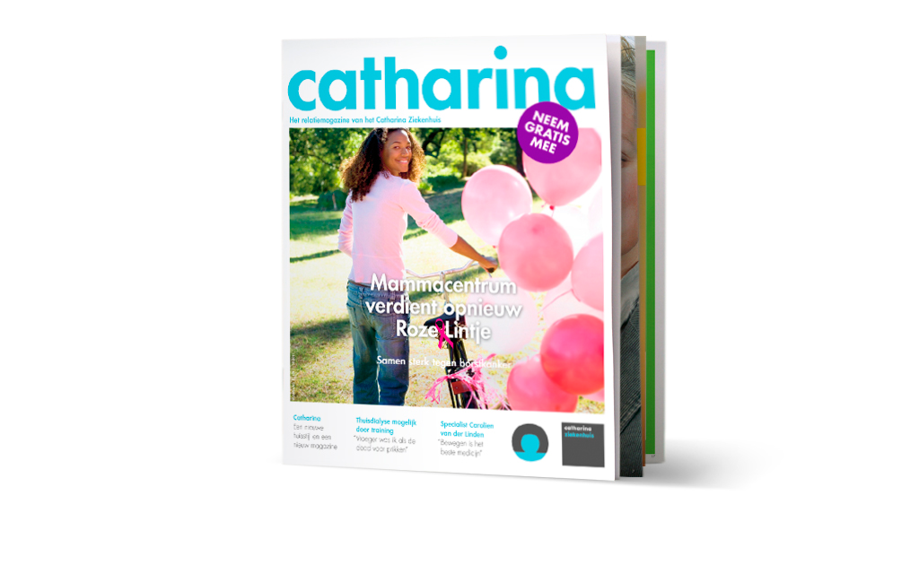 Cover magazine Catharina Ziekenhuis