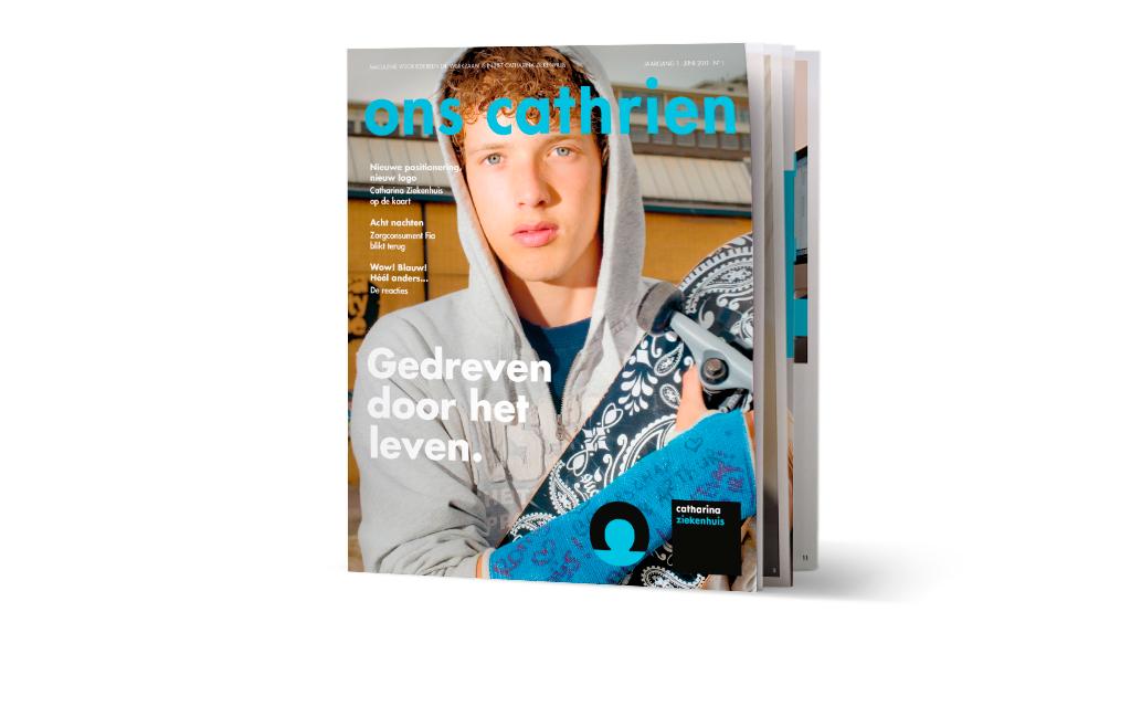 Cover personeelsmagazine Catharina Ziekenhuis