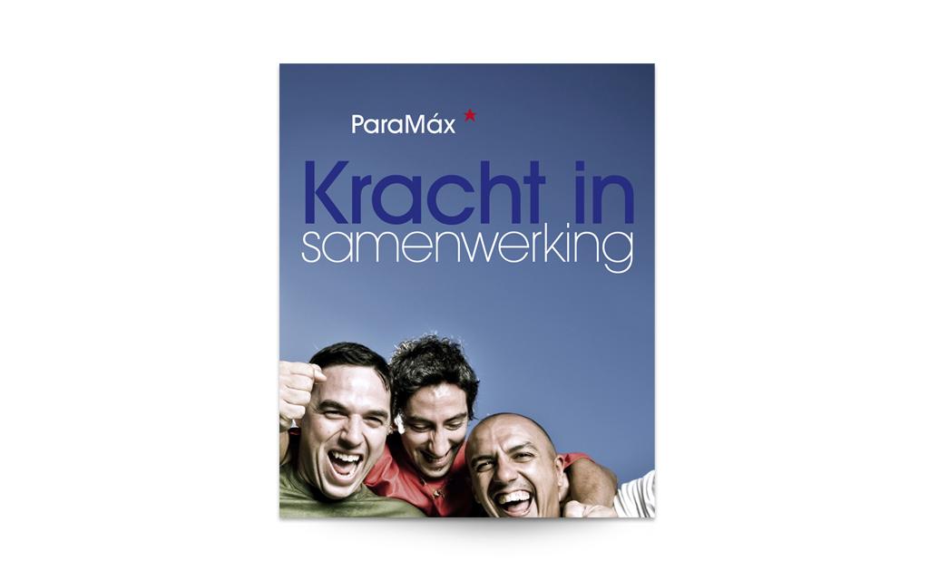 Ontwerp cover brandbook Paramax